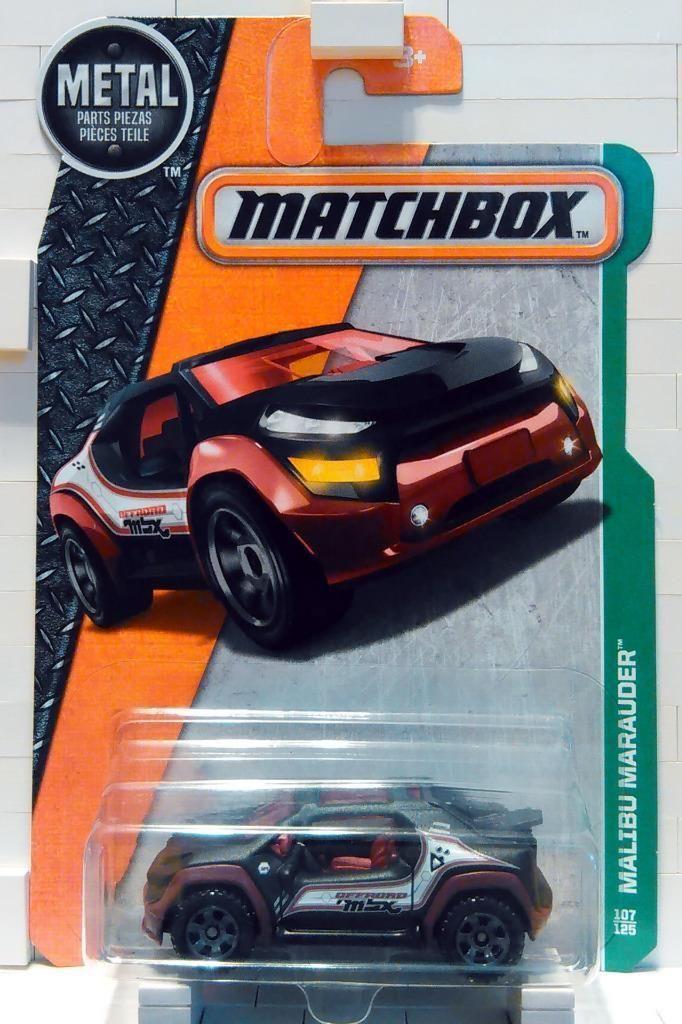 Matchbox 2016 MBX Explorers Malibu Marauder on Short Card!