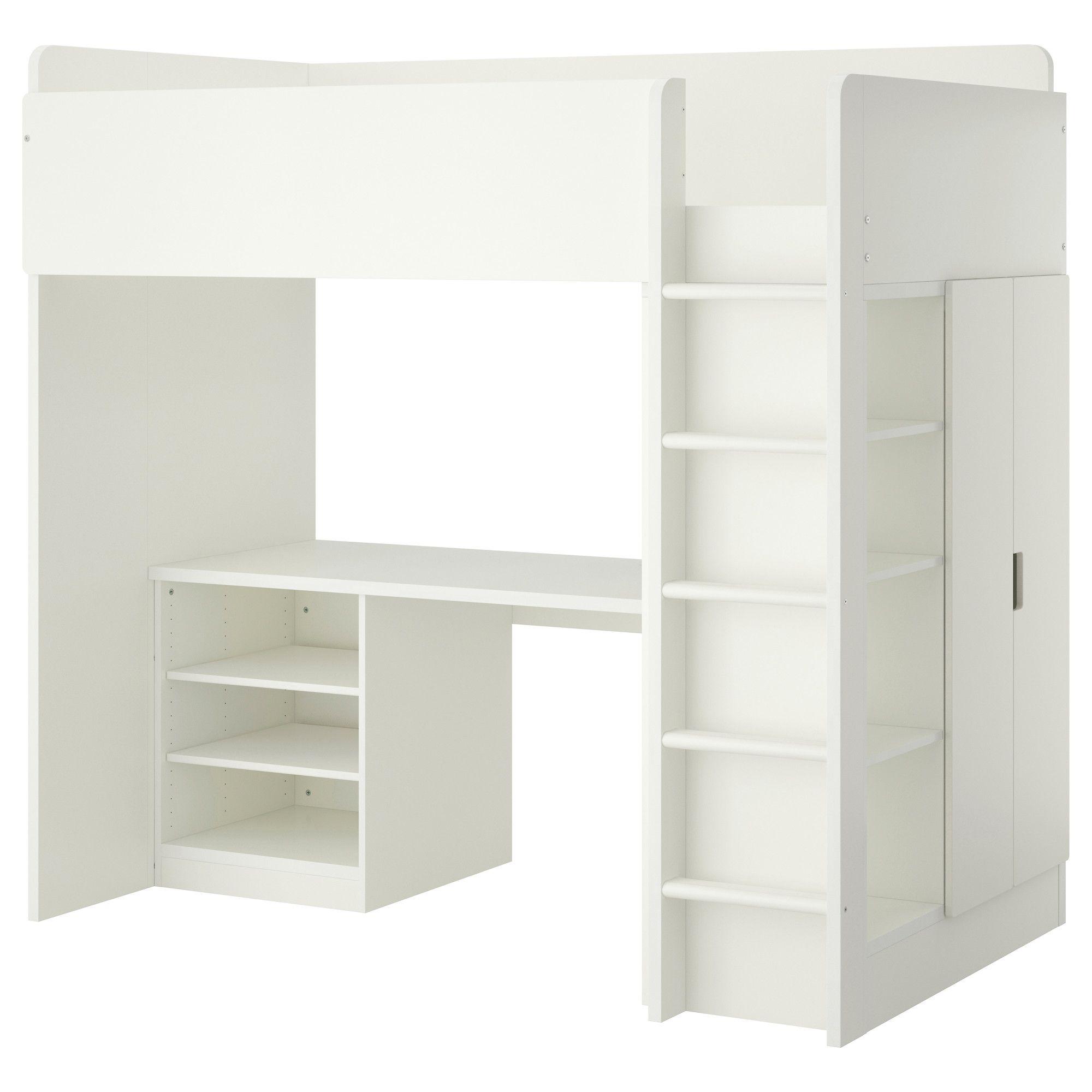 Charmant STUVA Loft Bed With 2 Shelves/2 Doors   White   IKEA
