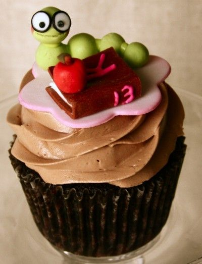 Cupcakes for a Bookworm themed birthday party! | Cake ...