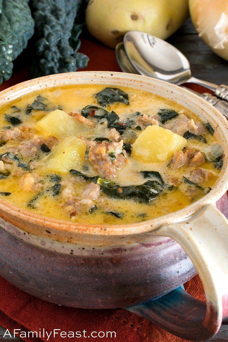 (Better Than Olive Garden) Zuppa Toscana Recipe Zuppa