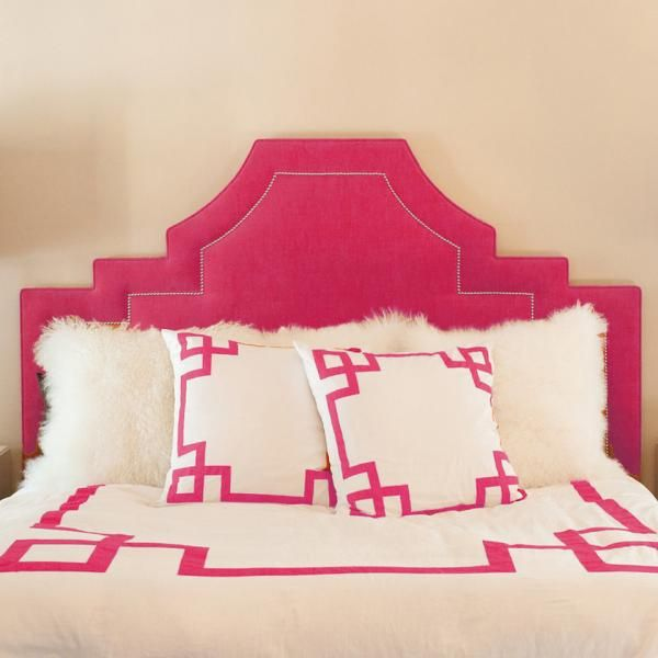 Hot Pink Key Duvet Cover Would Looove To Have The Headboard