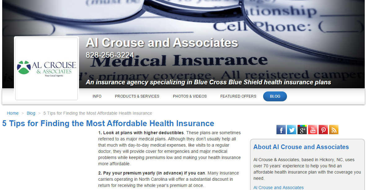 5 Tips for Finding the Most Affordable Health Insurance ...
