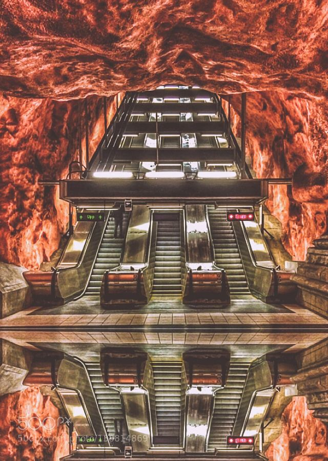 Metrostation by spikerbagger. @go4fotos