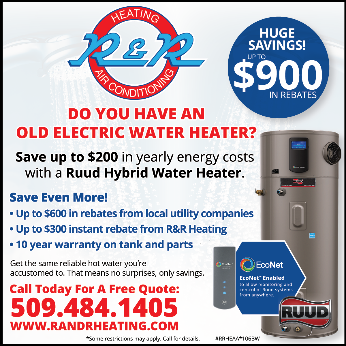 Benefits Of A Heat Pump Water Heater vs. Electric Heat