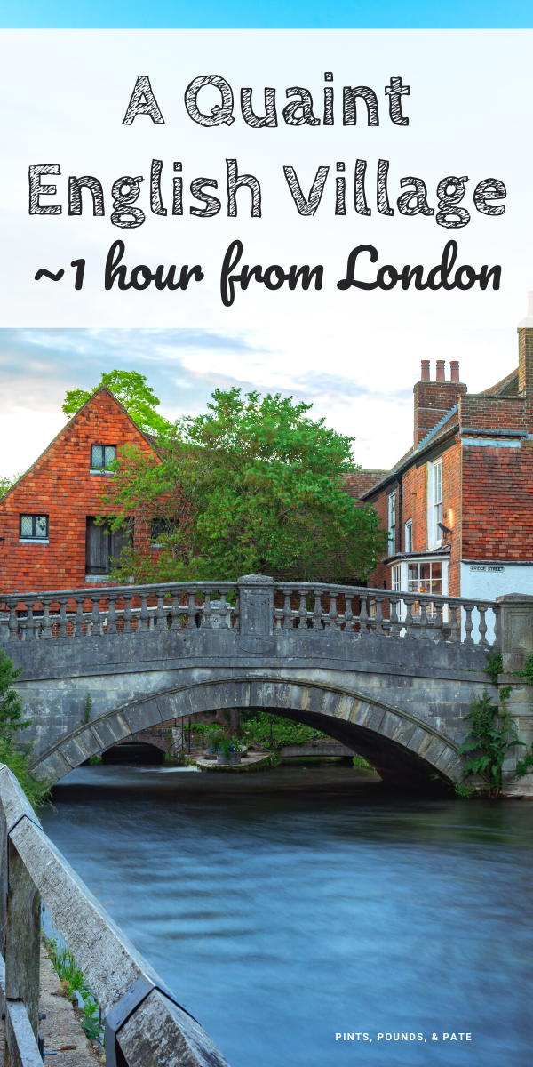 Just Over An Hour S Train Ride From London You Ll Find Historic Winchester England Home To Winchester Cat England Travel Visiting England Winchester England