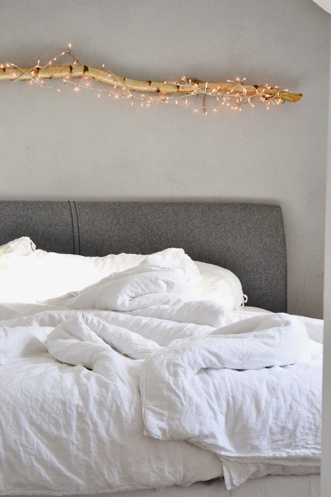 Schlafzimmer · Natur Und Dezentes Licht