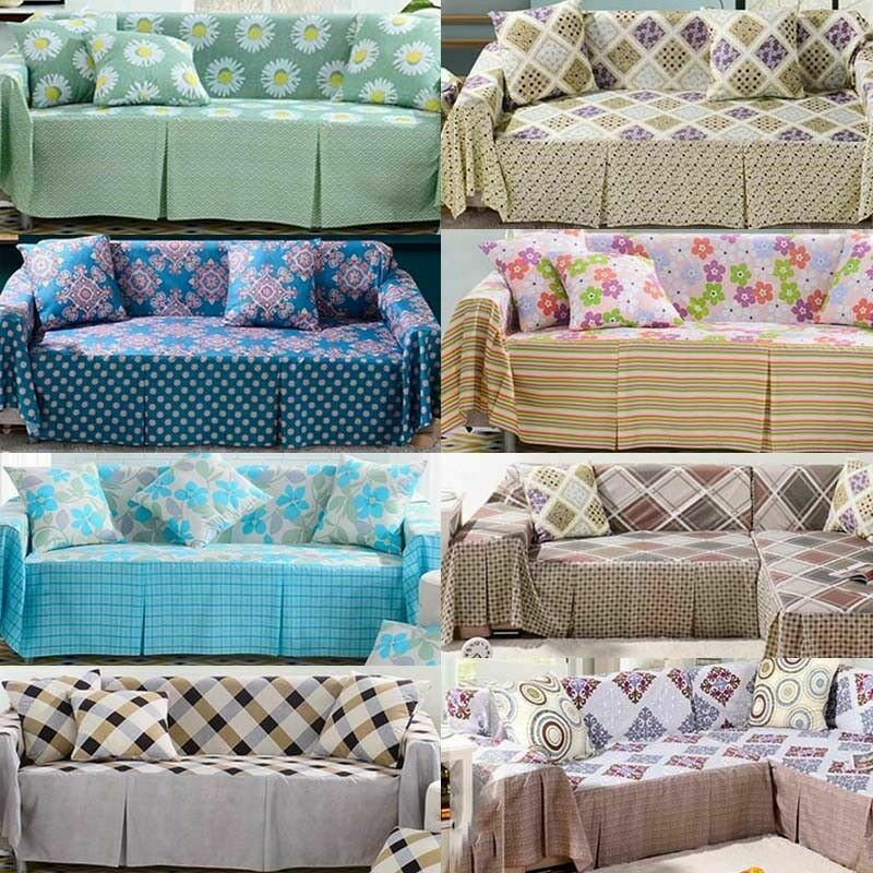Modern Sofa Cover Fashion Print Home Furniture Protector Couch
