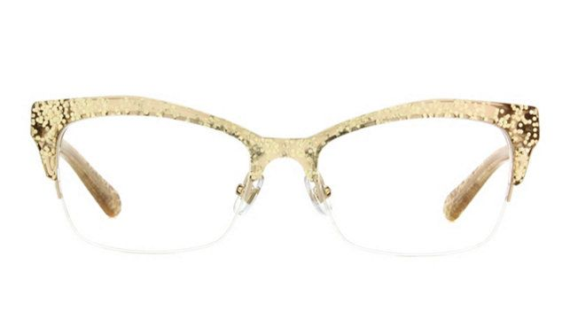 46d87da2fb7 Kate Spade Lyssa Eyeglass Frames in Gold Glitter