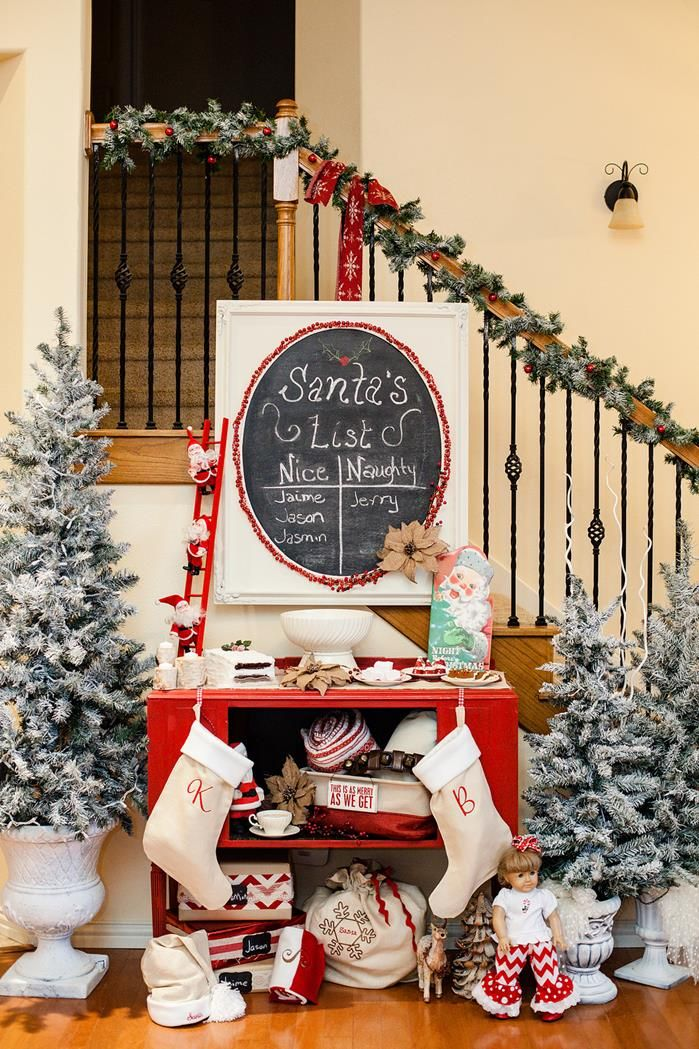 Vintage Christmas Party Ideas Part - 21: Vintage Santa Christmas Party With Full Of DARLING IDEAS Via Karau0027s Party  Ideas | KarasPartyIdeas.