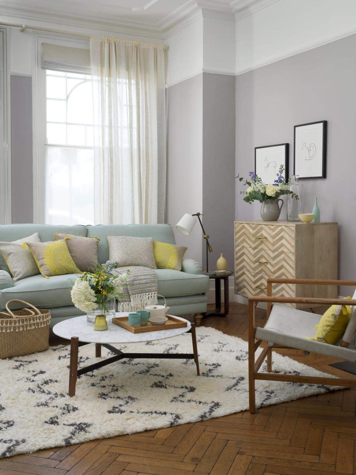 Living room modern interior design painting house nest design home