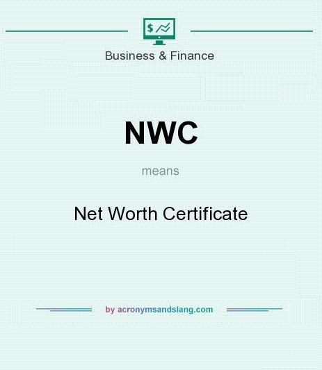 6+ Net Worth Certificate Formats Free Word  PDF Templates