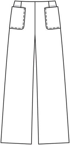 Como Descargar Imprimir Y Guardar Los Patrones De Costura Pantalones Pata De Elefante Patrones De Burda Patrones De Costura