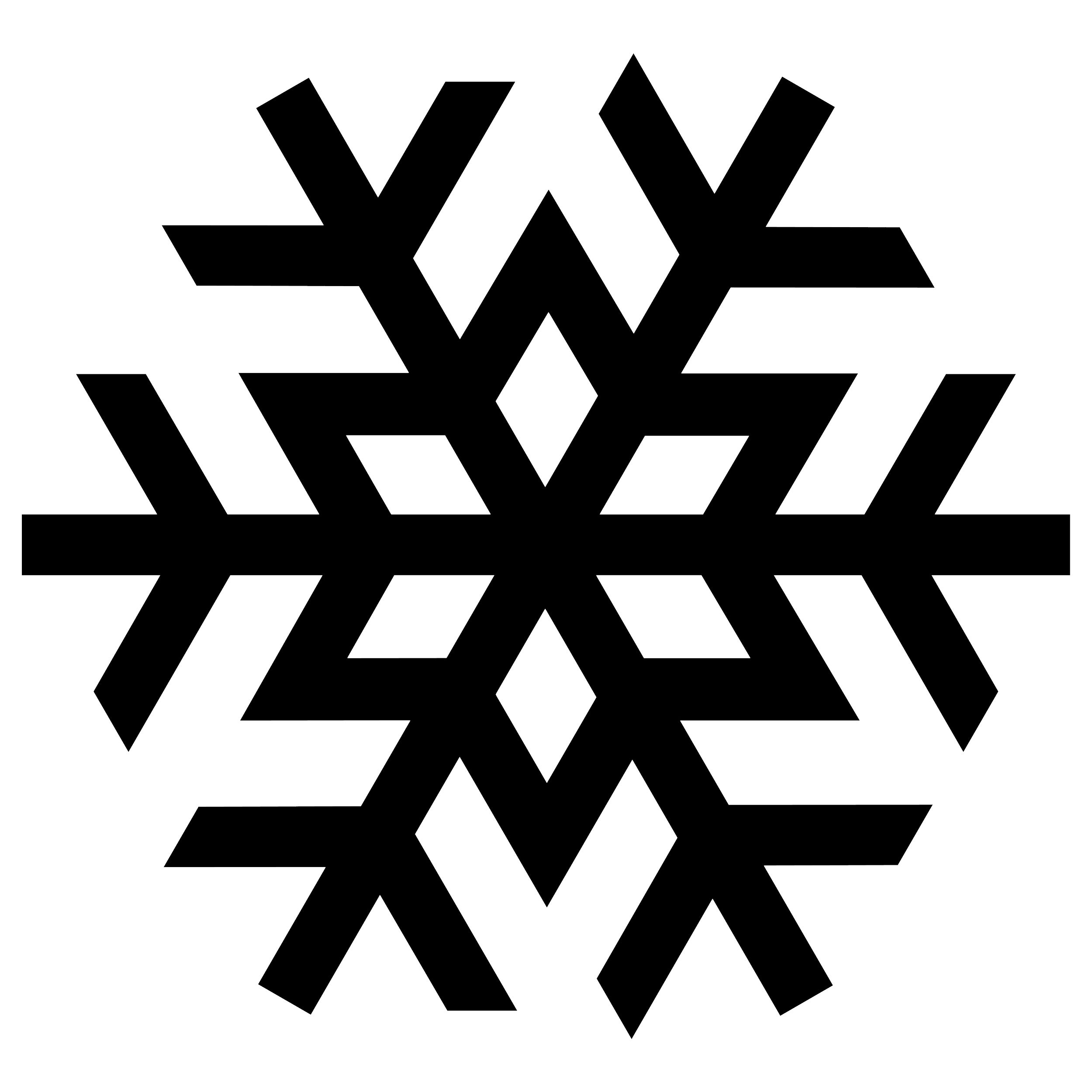 Snowflake silhouette PNG image Wzory