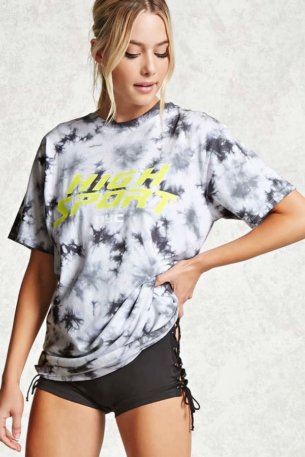 65935c718e2c Forever 21 Active High Sport Graphic Tee | Products | Pinterest ...