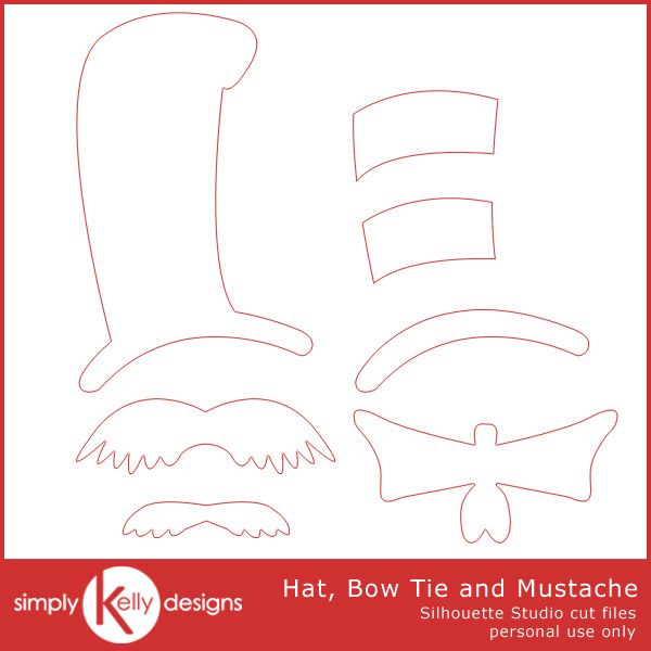 20 bow tie template printable images diy dr seuss photo booth