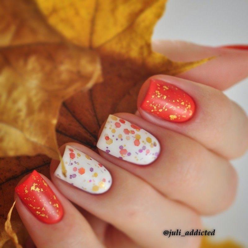 35 Gorgeous Fall Nail Art Ideas | Pinterest | Nail color designs ...