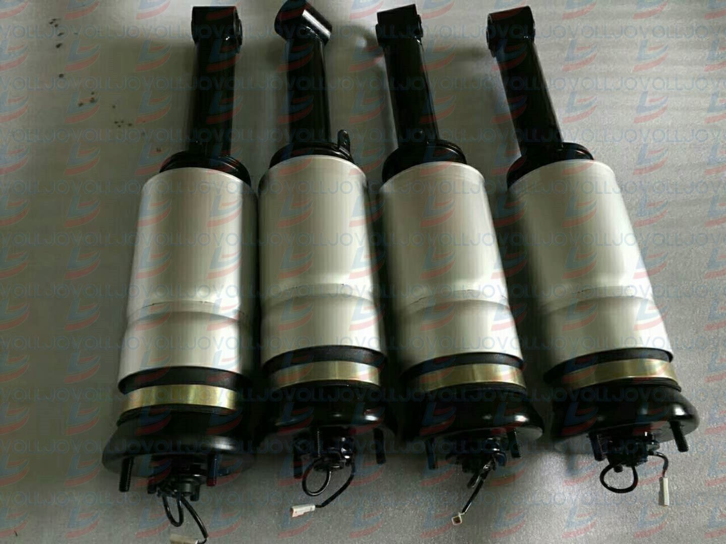 Front Air Suspension Shock Gas Strut with ADS For Land Rover