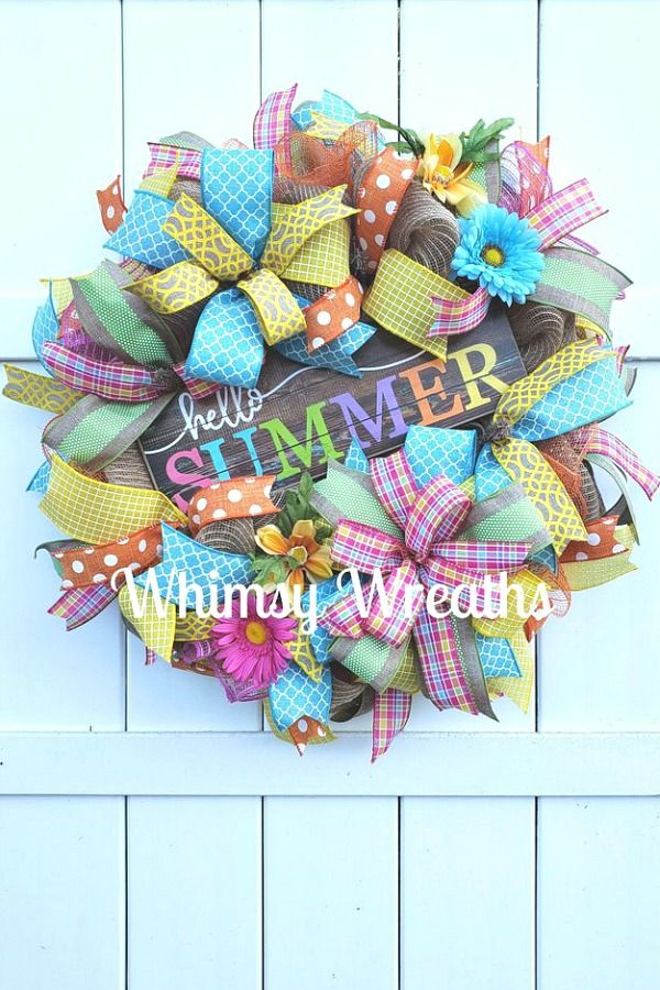 Photo of May Wreaths & Centerpieces – Trendy Tree Blog | Holiday Decor Inspiration | Wreath Tutorials | Holiday Decorations | Mesh & ribbons