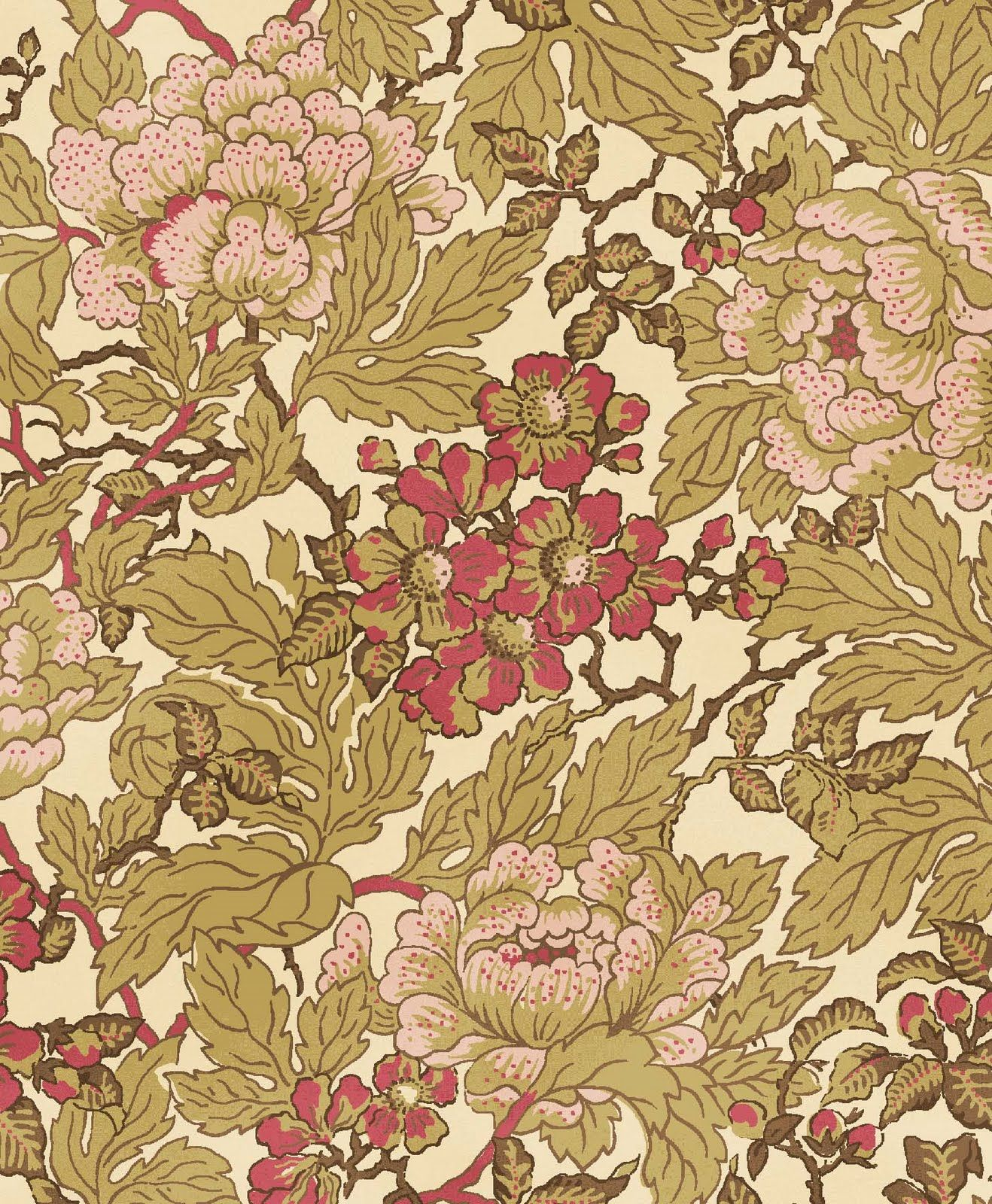 Gables_wallpaper_2.jpg (1318×1600) Victorian wallpaper