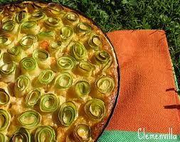 tarta de calabacin y verduras