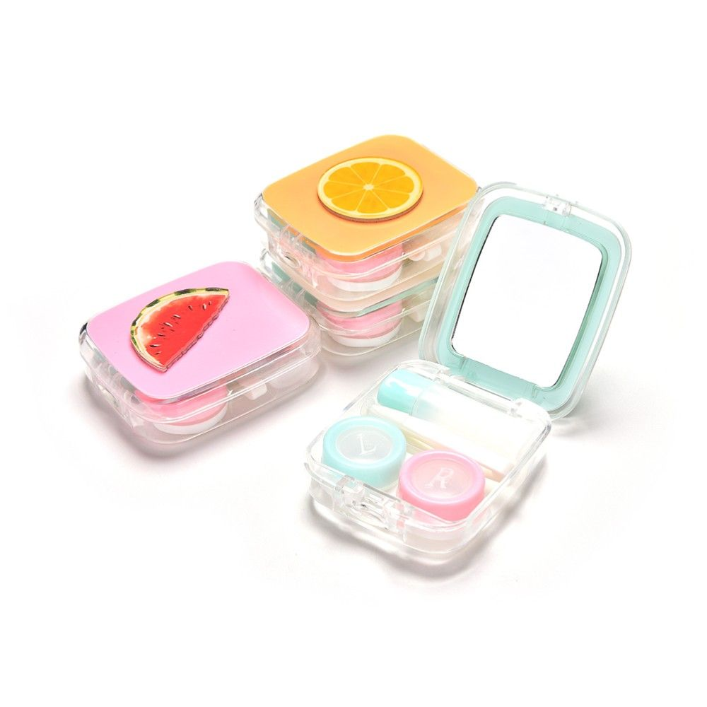 Everything You Need To Easily Change From Glasses To Contacts On The Go Easily Slip It Into Your Bag Contact Lenses Case Contact Lenses Lens