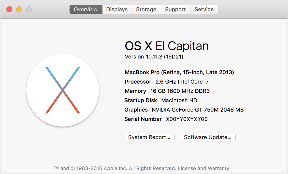 Find the model and serial number of your Mac Apple support