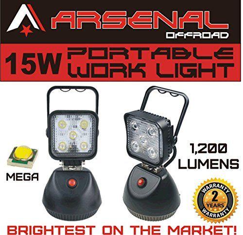 2016 Design 15W Portable Rechargeable ARSENALTM LED Work ...