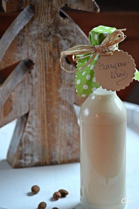 Rezept, Likör, selbstgemachter Likör, Marzipanlikör, Marzipan - geschenke aus der küche rezepte