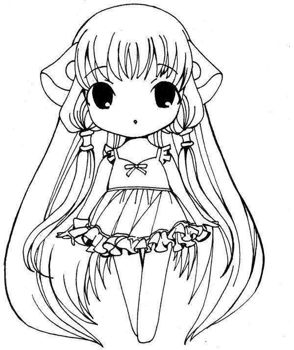 Tags Anime CLAMP Chobits Chii Summer Dress Adorably Cute