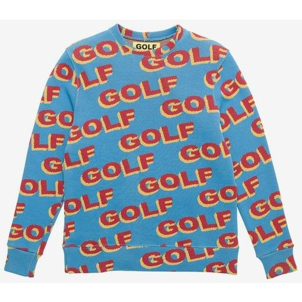 c854622609be GOLF WANG - 3D GOLF Sweater ❤ liked on Polyvore featuring tops ...