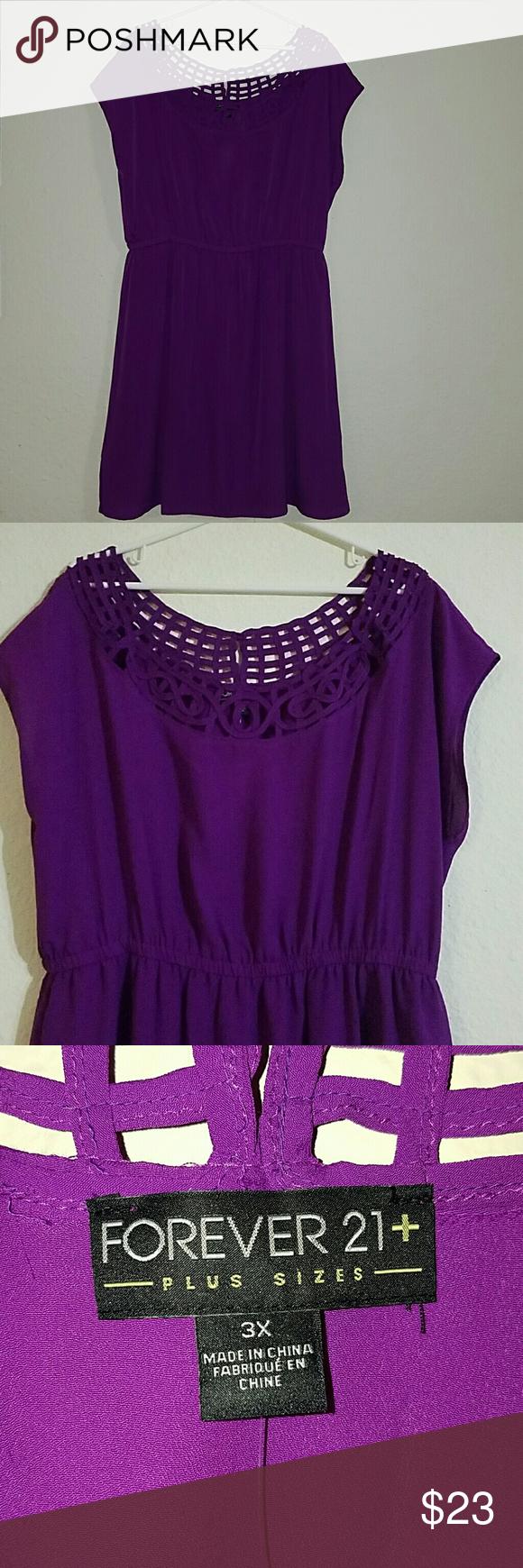 Purple forever21 dress