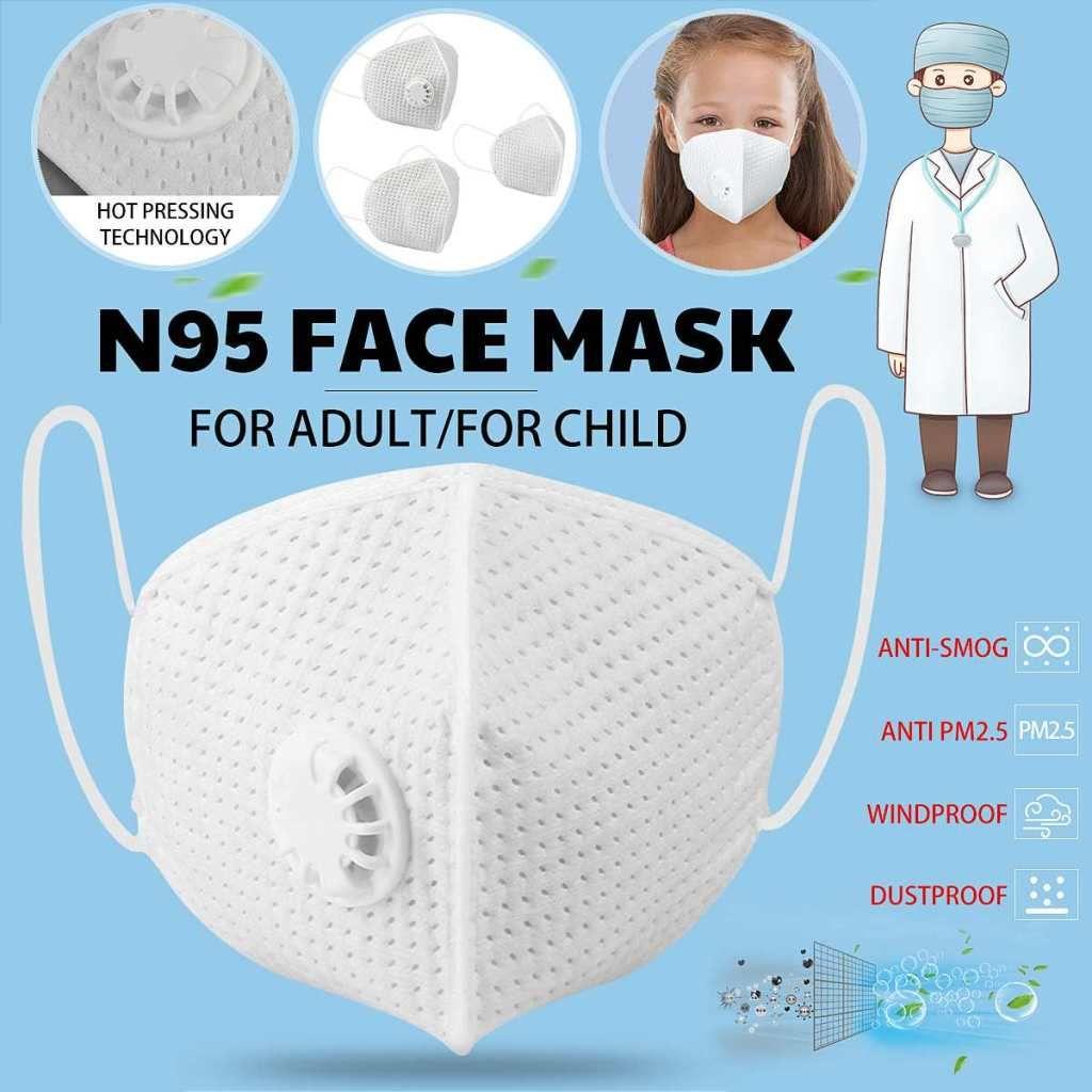 Children Masks Anti-PM2.5 Anti-Haze Dust Respiratory Health Care For Adult
