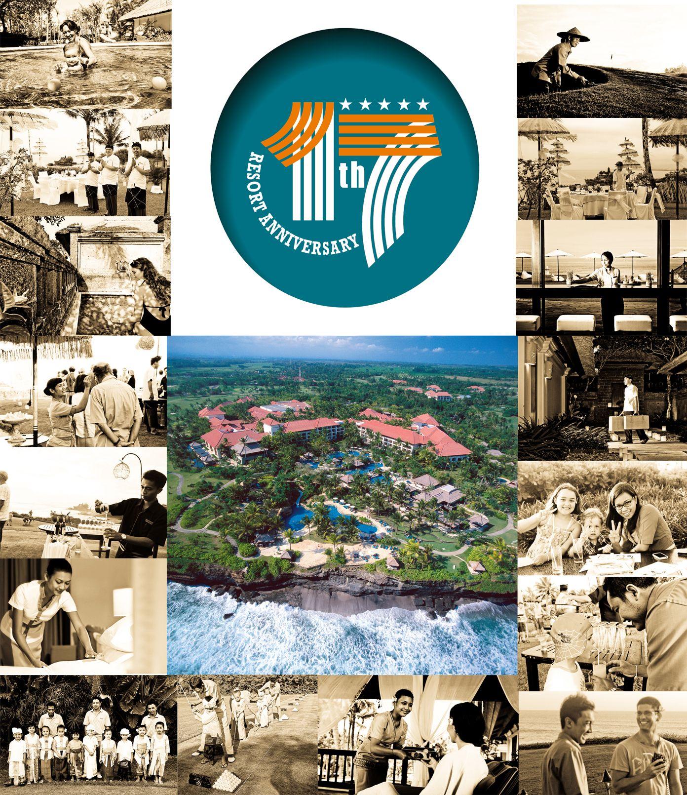 """17 years of Collaboration. Keep Moving Forward""   #PanPacificBali #Bali #Resort #TanahLot #Anniversary #SweetSeventeen #Celebration"