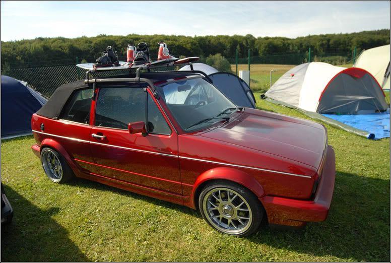 VW Cabriolet Roof Rack   Rare Mk1 Cabrio Roof Rack