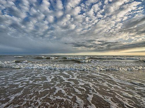Nuvens ondas