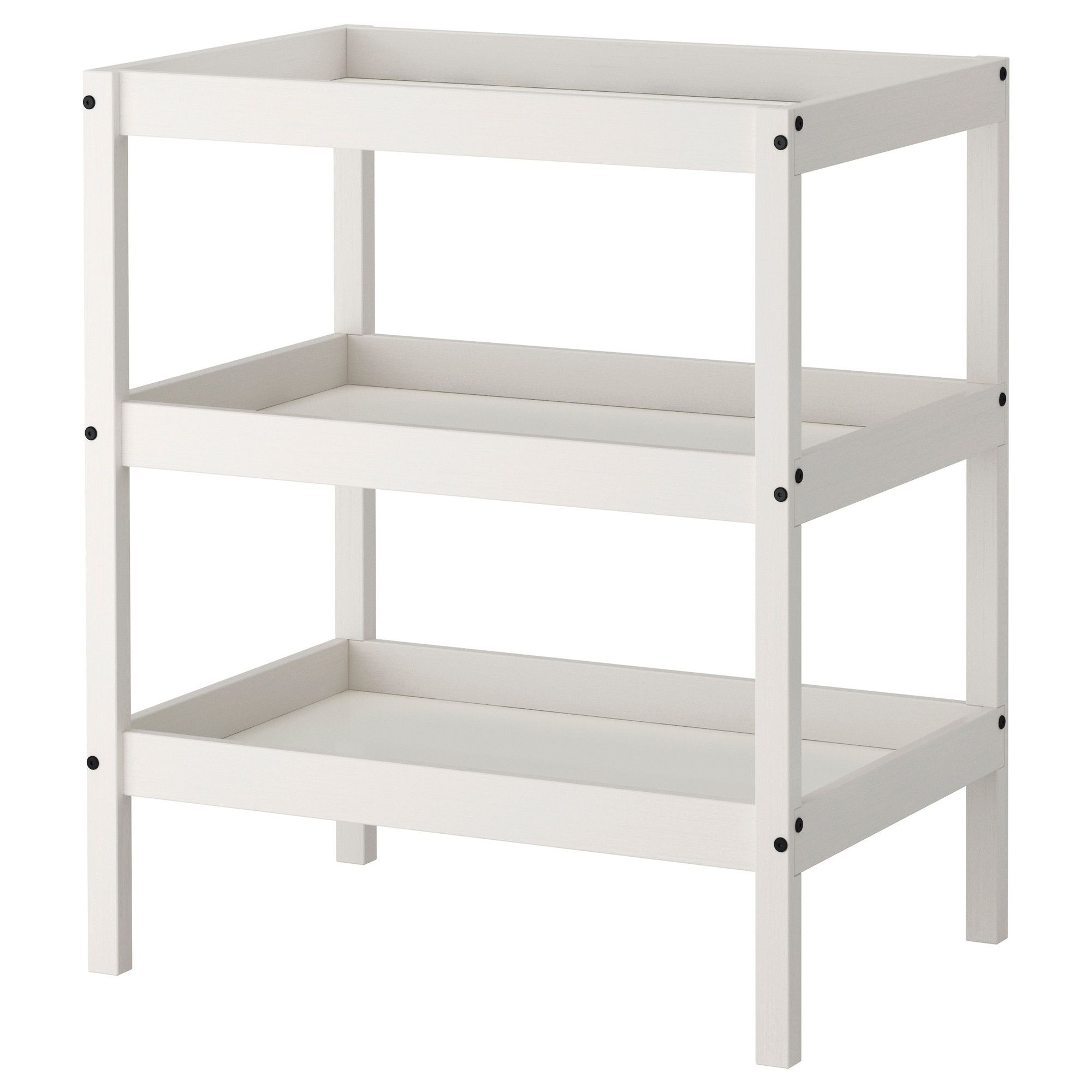 Gallery One SUNDVIK Changing table IKEA Comfortable height for changing the baby