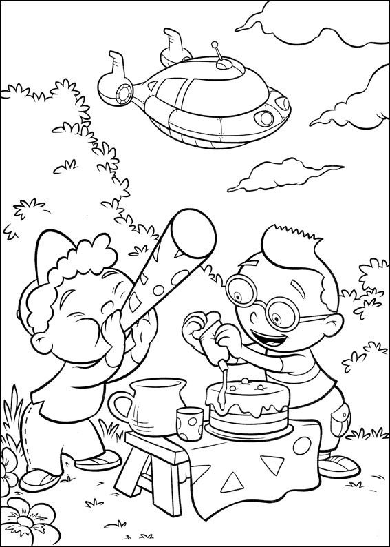 Dibujos para Colorear Mini Einsteins 30 | Little Einsteins ...