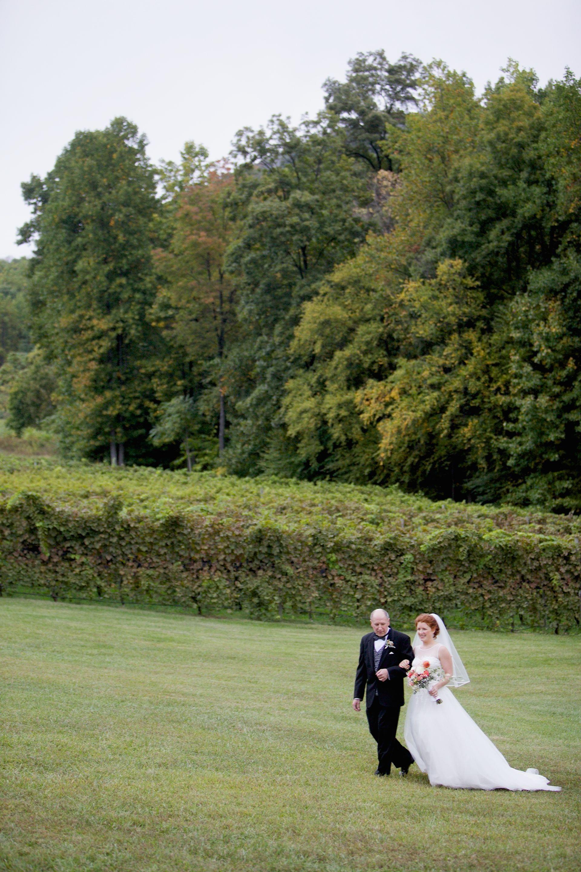 Autumn Vineyard Nuptials at Delfosse Vineyard | Charlottesville, VA