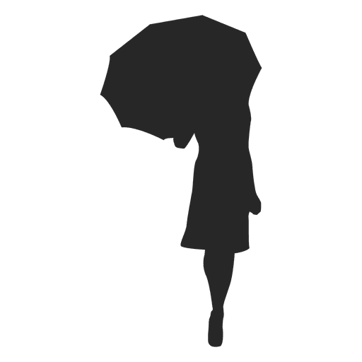 Girl Walking With Umbrella Gray Silhouette Ad Affiliate Sponsored Walking Silhouette Gray Girl Ladies Umbrella Silhouette Silhouette Clip Art