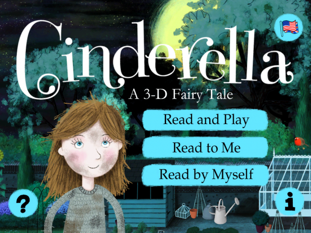 Cinderella Nosy Crow App features * An interactive