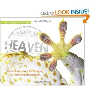 Made in Heaven: Ray Comfort, Jeffrey Seto...Engineers and inventors have long examined God's creation to understand and copy complex, proven mechanics of design in the science known as biomimicry. Much of this inspiration is increasingly drawn from amazing aspects of nature, including insects to plants to man in search of wisdom and insight.