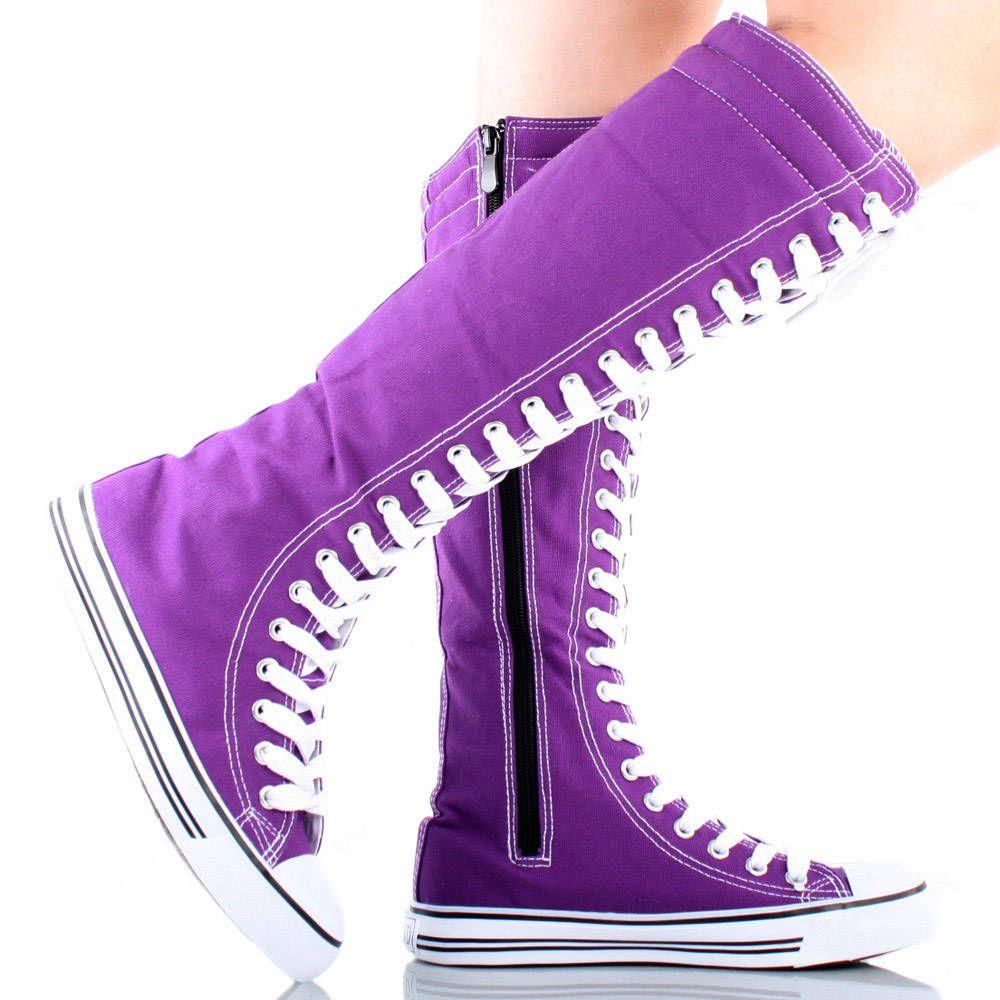 purple converse boots 62986d8441f3