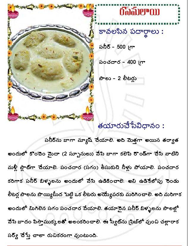 Rasmalai recipe in telugu google recipes pinterest rasmalai recipe in telugu google forumfinder Images