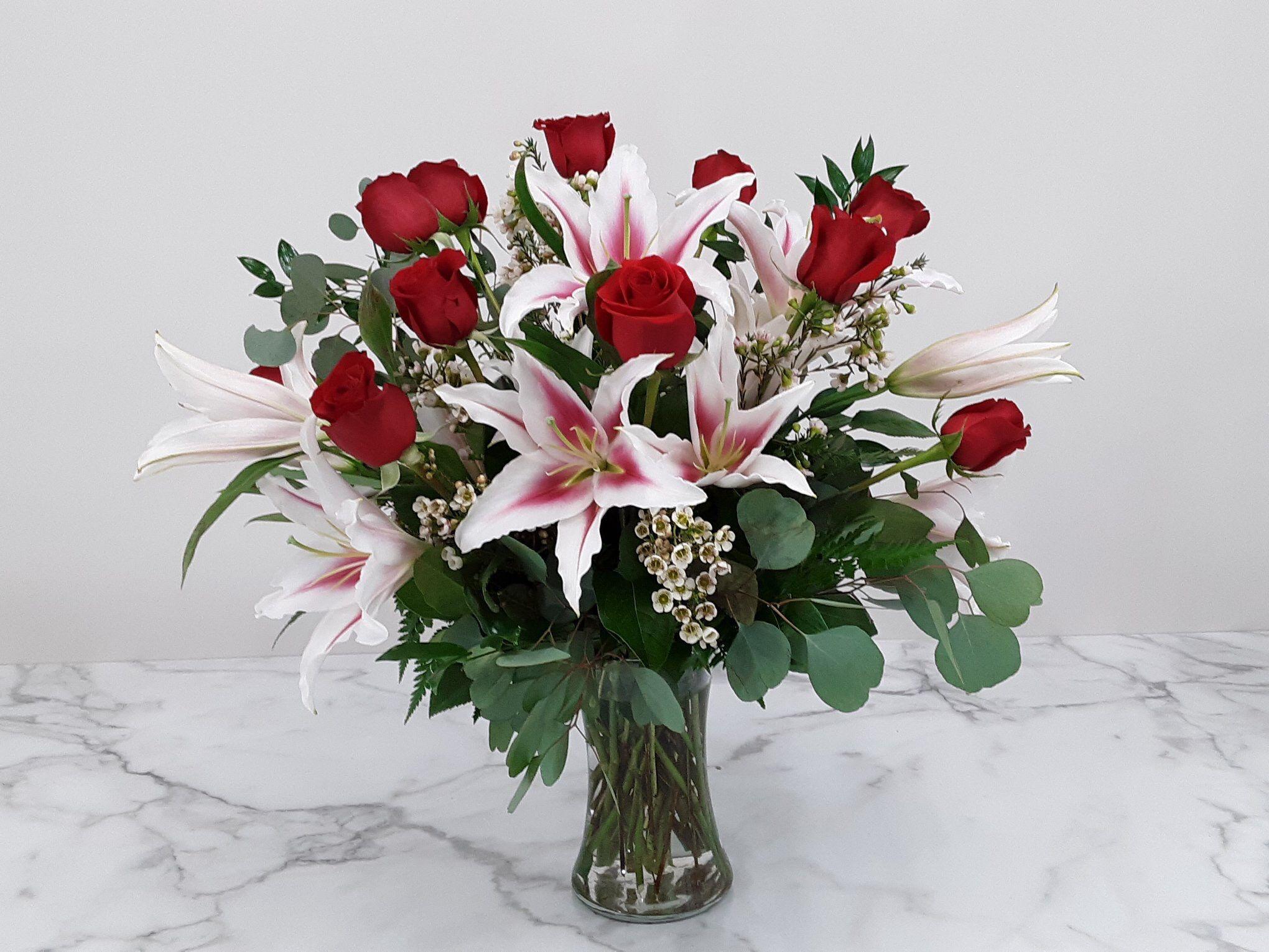 Eternally yours flower delivery flower arrangements