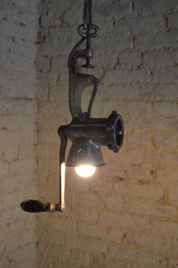 Very Clever Idea. Rustic LampsRustic Kitchen LightingRustic Pendant ...
