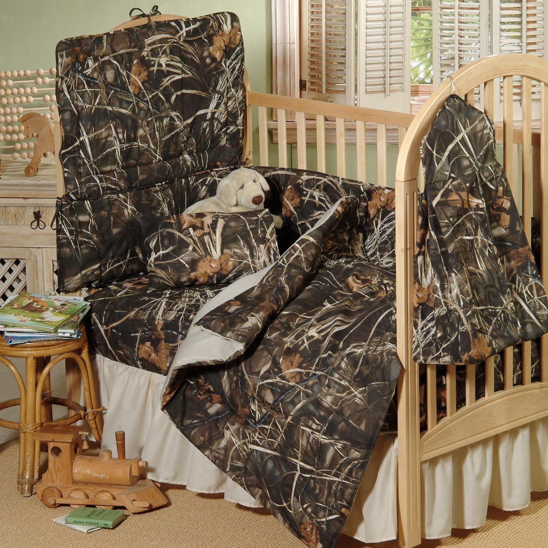 Realtree Max4 Crib 2Piece Set Crib