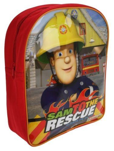 "Fireman Sam ""Sam to the Rescue"" Backpack School Bag **************************************** תיק סמי הכבאי לגן רק ב כ 48 שקל כולל משלוח חינם!"