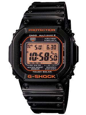 G Shock G Shock Casio Casio Domestic Regular Model Radio Solar Digital Watch Black Orange Gw M5610r 1jf Casio G Shock G Shock Watches G Shock