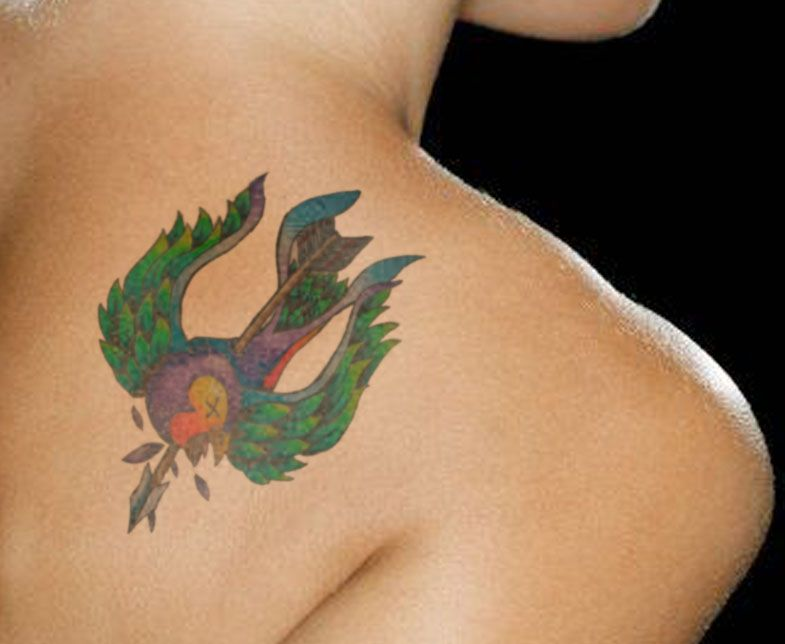 Only Swallow Tattoo Swallow Bird Tattoo Symbolism Swallow Tattoo