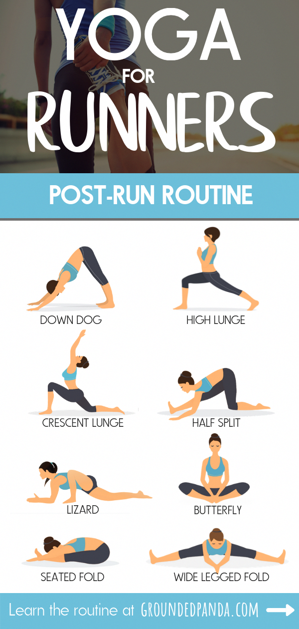 Here Is A Simple 10 Minute Yoga Routine To Be Done After Your Runs This Routine Is Beginner Friendly To All Leve Yoga For Runners Runners Workout Yoga Routine